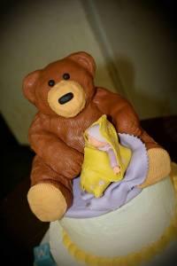 Rice Crispie + Sugar Teddy Bear