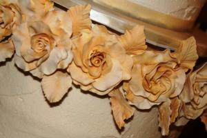 Yellow & Gold Sugar Roses